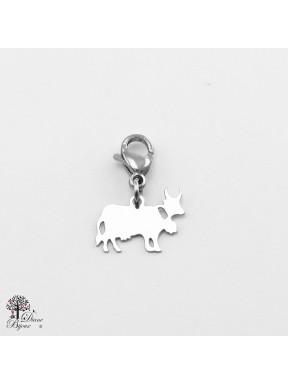 Mini accroche vache en acier inox 11mm
