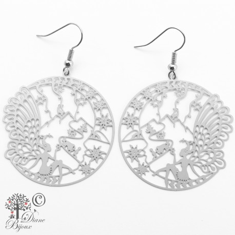 Earring Fairy stainless steel
