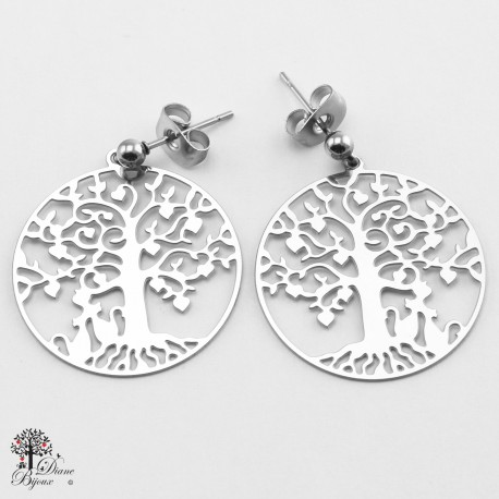 Stainless steel Earrings 23mm