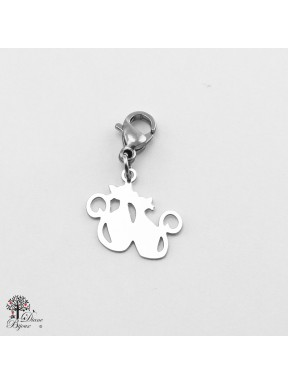 Stainless steel mini pendant 11mm