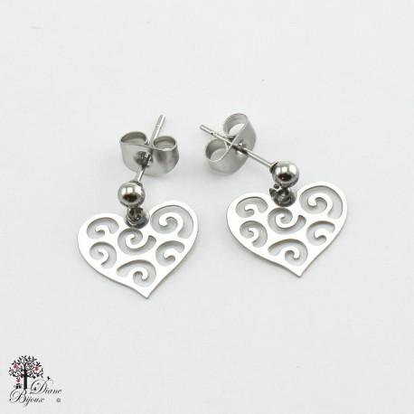 Mini stainless steel Earrings 11mm