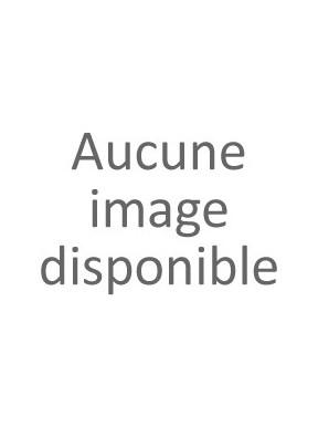 Carte de voeux Poya à 3 volets 13x18.5 cm rouge/blanc